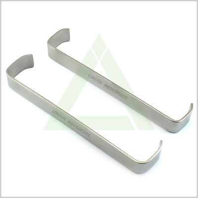 Farabeuf Tissue Retractor Cheek Lips & Tongue Holder Surgical Twin Set CE