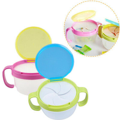 Handle Anti Spill Baby Food Storage Bowls Feeding Container Snacks Holder