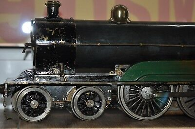 """Bassett Lowke 2,5""""  67 mm gas fired live steam loco pipes not complete"""