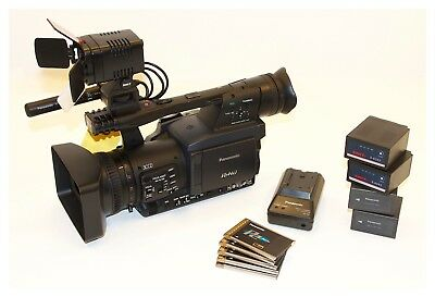 Panasonic AG-HPX171E, HD P2 camcorder with accessories