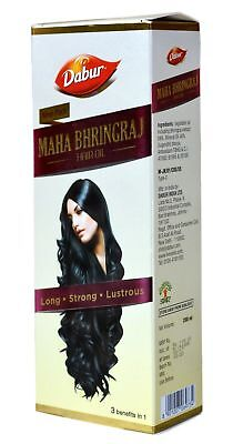200 ml Dabur Maha Bhringraj Hair Oil for Long Strong & Lustrous Hair Hair Care