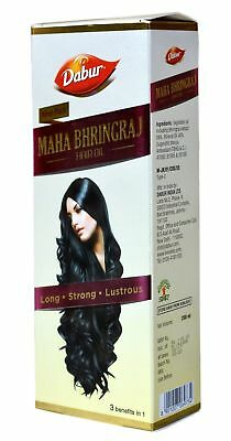 300 ml Dabur Maha Bhringraj Hair Oil for Long Strong & Lustrous Hair Hair Care