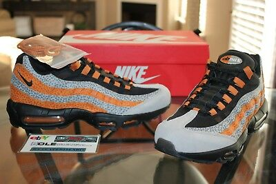 wholesale dealer f5163 10eb5 Deadstock Nike Air Max 95 Safari Size  Exclusive Black Carrot AR4592-001  Size 11