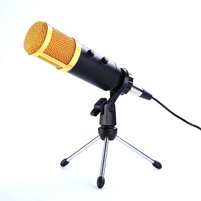 BM 900 USB Condenser Microphone Studio Sound Recording Mic Wired With Tripod