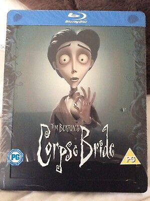 822931c0ea92 Corpse Bride Limited Edition Blu-ray Steelbook Tim Burton  RARE   Sold OUT