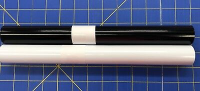 Vinyl For Cricut Oracal 651 Adhesive Craft Vinyl 2 5ft Rolls 1 White 1 Black
