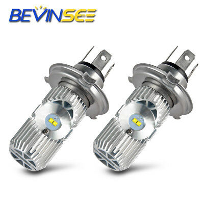 Bevinsee H4 9003 LED Headlight Bulb For BMW F650 G650GS R1150R R1200C R850 White