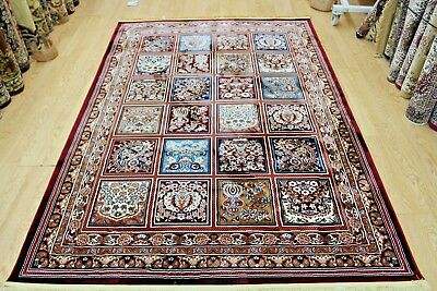 Traditional Persian Oriental Design SOFT PILE RUG MULTI COLOUR NOW ON SALE