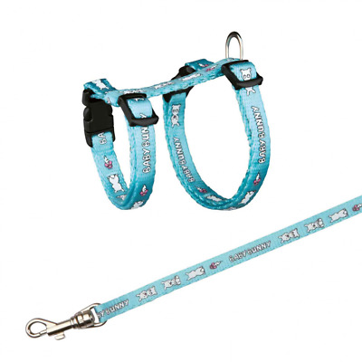 Trixie Harness Leash Lead Collar Set Small Rabbits 3 Colours 6265
