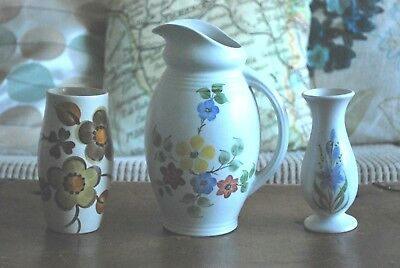 Vintage Radford ceramic small collection jug and vases - lovely gifts or display