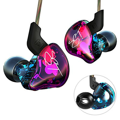 Yinyoo Hifi Headset KZ ZST Colorful Hybrid Banlance Armature with Dynamic In-ear