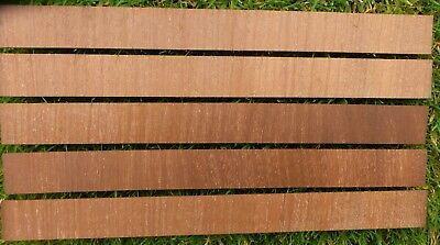 "Thick Mahogany Veneer Cross-banding cut approx 2 mm thick 62"" usable length"