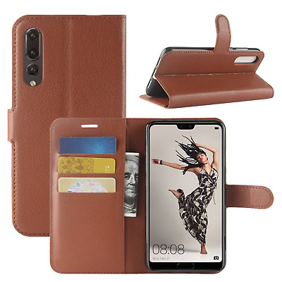 buy online ed234 f796c HUALUBRO HUAWEI P20 Pro Case, Premium PU Leather Wallet Flip Phone...