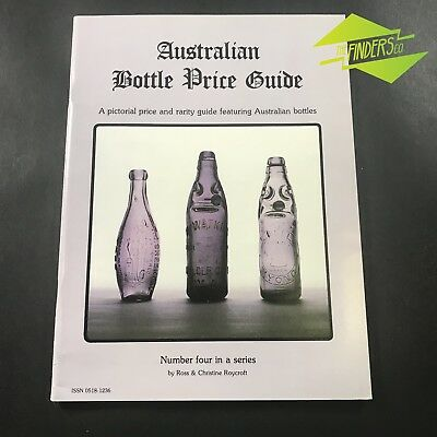 AUSTRALIAN BOTTLE PRICE GUIDE NO.4 By ROYCROFT ANTIQUE GLASS CODD GINGER BEER