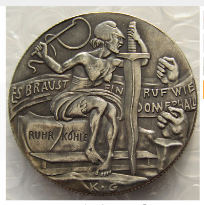 Hobo Nickel  Germany 1923 BRONZE game