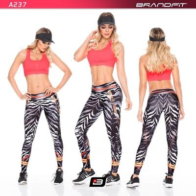 New Colombian Leggings Gym Working Out pants Fitness Animal Print Fiber 2019