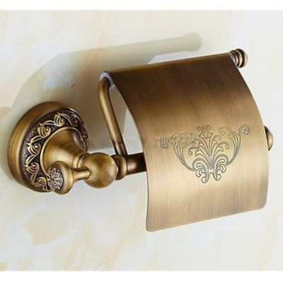 High Quality Brass Wall Mounted Antique Bathroom Toilet Paper Roll Holder