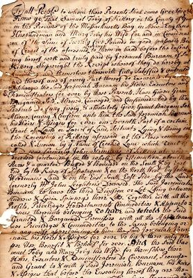 1735, Kittery, Maine, Nicholas Shapleigh, Captured and Tortured by Indians, sign