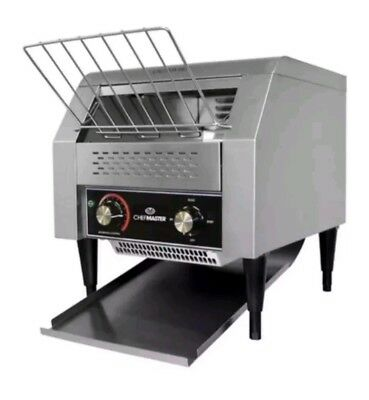 CHEFMASTER Electric Conveyor Toaster 2.4 kW in Perfect Condition RRP £502