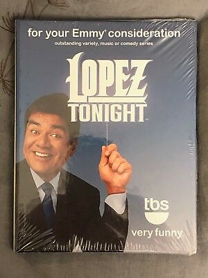 George Lopez - Lopez Tonight - 2010 Emmy Consideration New Sealed DVD