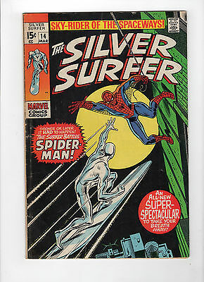 The Silver Surfer #14 (Mar 1970, Marvel) - Fine