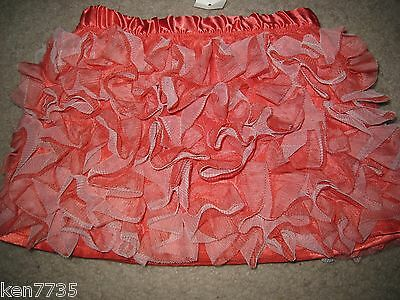 Nwt Baby Gap Girls Holiday Wonderland Ruffle Puff Skirt Size 2 2T