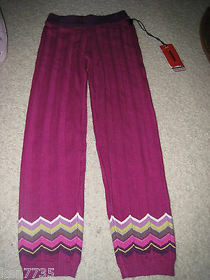 Nwt Missoni For Target Girls Sweater Leggings Size 4T-5T 4 5