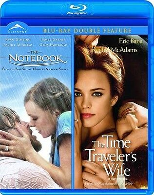 The Notebook/The Time Travelers Wife (Blu-ray Disc, 2011, Canadian)