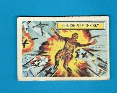 1965 A&bc (Not Topps) Battle Cards British  #6 Collision In The Sky