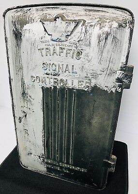 Eagle Signal Traffic Light Control Box Vintage 1970's