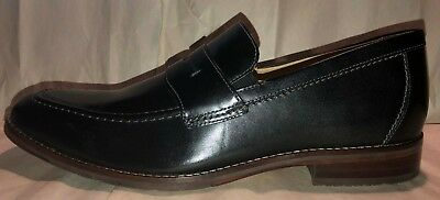 a0b5a8aa80b Men s New size 13 M Johnston   Murphy Garner Black Full Grain Penny Loafer