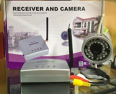 SET VIDEOSORVEGLIANZA WIRELESS Wireless Receiver and Waterproof Camera CP292