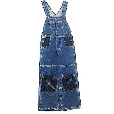 90s Vintage Lee Pipes Extreme Boys Small Baggy Wide leg Skater BMX Overalls NWT