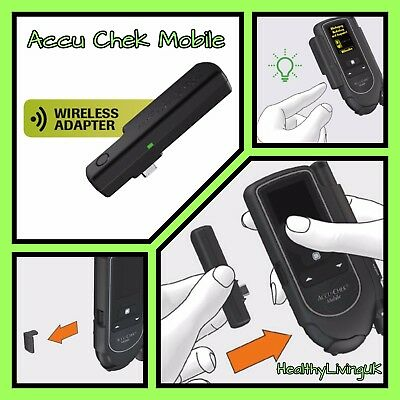 Accu Chek Wireless Device - For Mobile Meters - View Results on Mobile - RRP £49