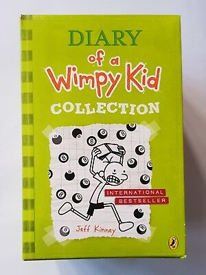 Jeff Kinney's Diary of a Wimpy kid collection  9 Books set