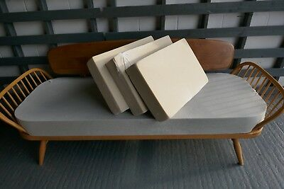 Foam Cushions Only. Ercol Daybed Seat & 3 Backs