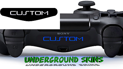 x3 Playstation 4 PS4 Controller custom Light bar Sticker decal your name