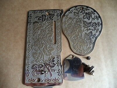Vintage Singer Sewing-Front/side Covers Singer 28 Etc