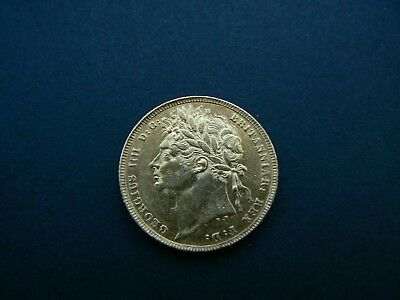 Great Britain - George Iv 1822 Gold Full Sovereign Aef