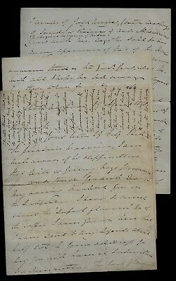 Long 1848 Nagpur, India letter BRITISH MILITARY OFFICER, Siberia Gold CONTENT !
