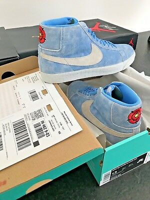77fa9d96bc47a Nike SB Zoom Blazer Mid Lance Mountain English Rose size 13 100% Authentic  New