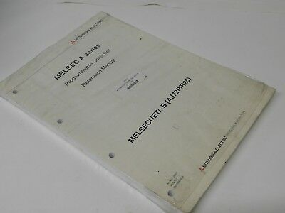 Mitsubishi MELSECNET/B AJ72P/R25 Programmable controller Reference manual