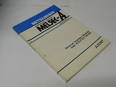 Mitsubishi MELSEC-A Ethernet Interface Module A1SJ71E71-B2/B5 User manual