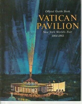 Vatican Pavilion brochure for 1964 -1965 New York World's Fair