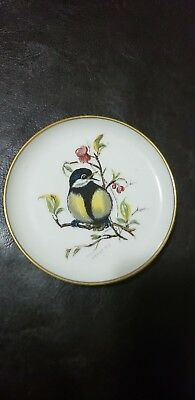 """Collectible Kaiser W. Germany 4"""" Decorative Plate with Bird"""