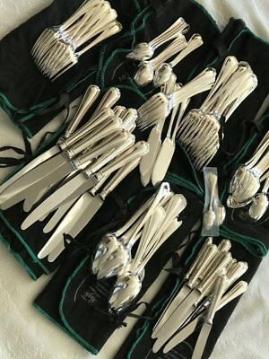 Set of 108 pcs SPATOURS by CHRISTOFLE silverplate flatware, FRANCE