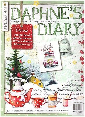 Daphne's Diary Number 8 2018 Retail 14.50