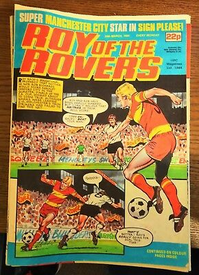 33 Roy of the Rovers comics - 1984