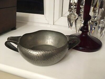 Tudric Liberty Two Handled Bowl In Pewter 0405 Archibald Knox Circa 1906