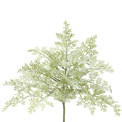 """8"""" Dusty Miller Artificial Plant -Green/Gray (pack of 12)"""